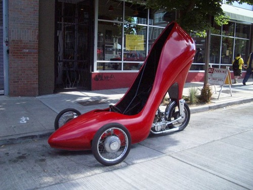 Stiletto Car from ALA Insurance