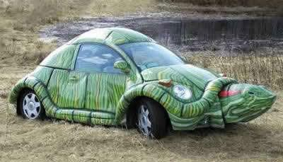 Tortoise Car from ALA insurance