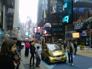 Lindt Car in Times Square for ALA GAP Insurance