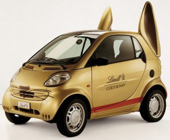 Lindt Easter Car for ALA GAP Insurance