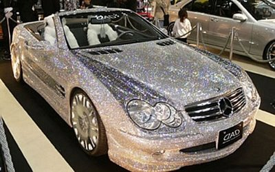 Swarovski Crystal Car for ALA GAP Insurance