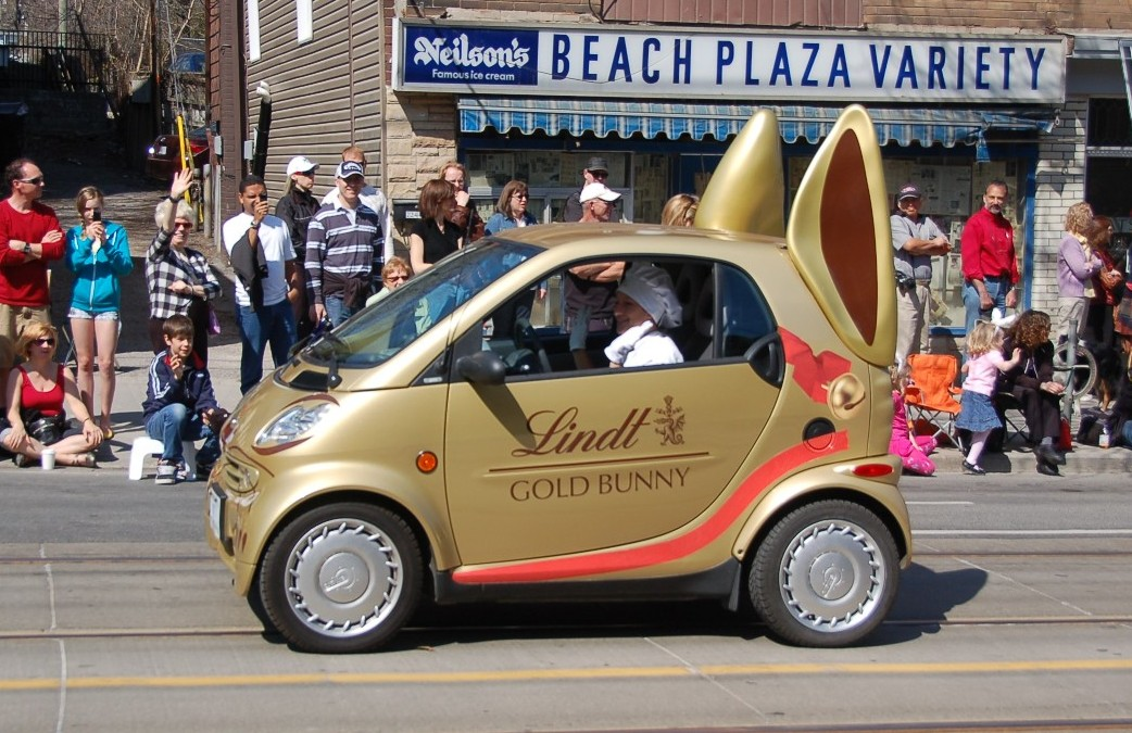 Lindt Car for ALA GAP Insurance