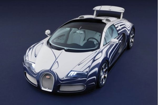 Porcelain Bugatti Veyron for ALA GAP Insurance