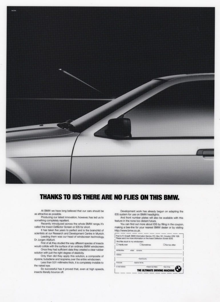 BMW April fool for ALA GAP Insurance