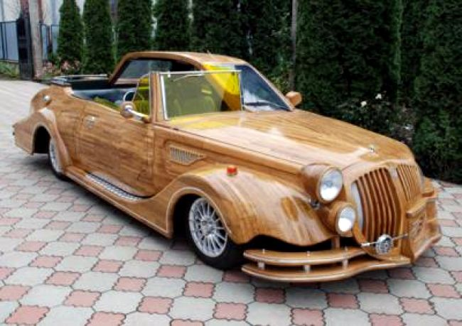 Wooden Car for ALA GAP Insurance