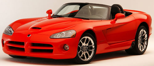 Dodge Viper for ALA GAP Insurance