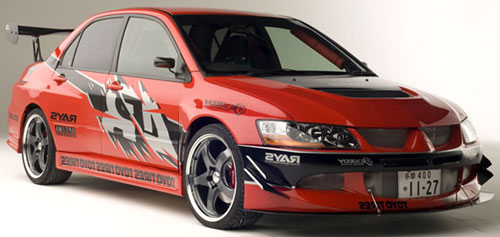 Mitsubishi Evo for ALA GAP Insurance
