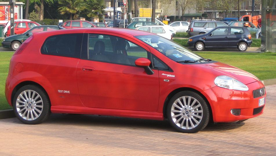 Fiat Grande Punto for ALA GAP Insurance