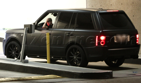 Justin Bieber Range Rover for ALA GAP Insurance