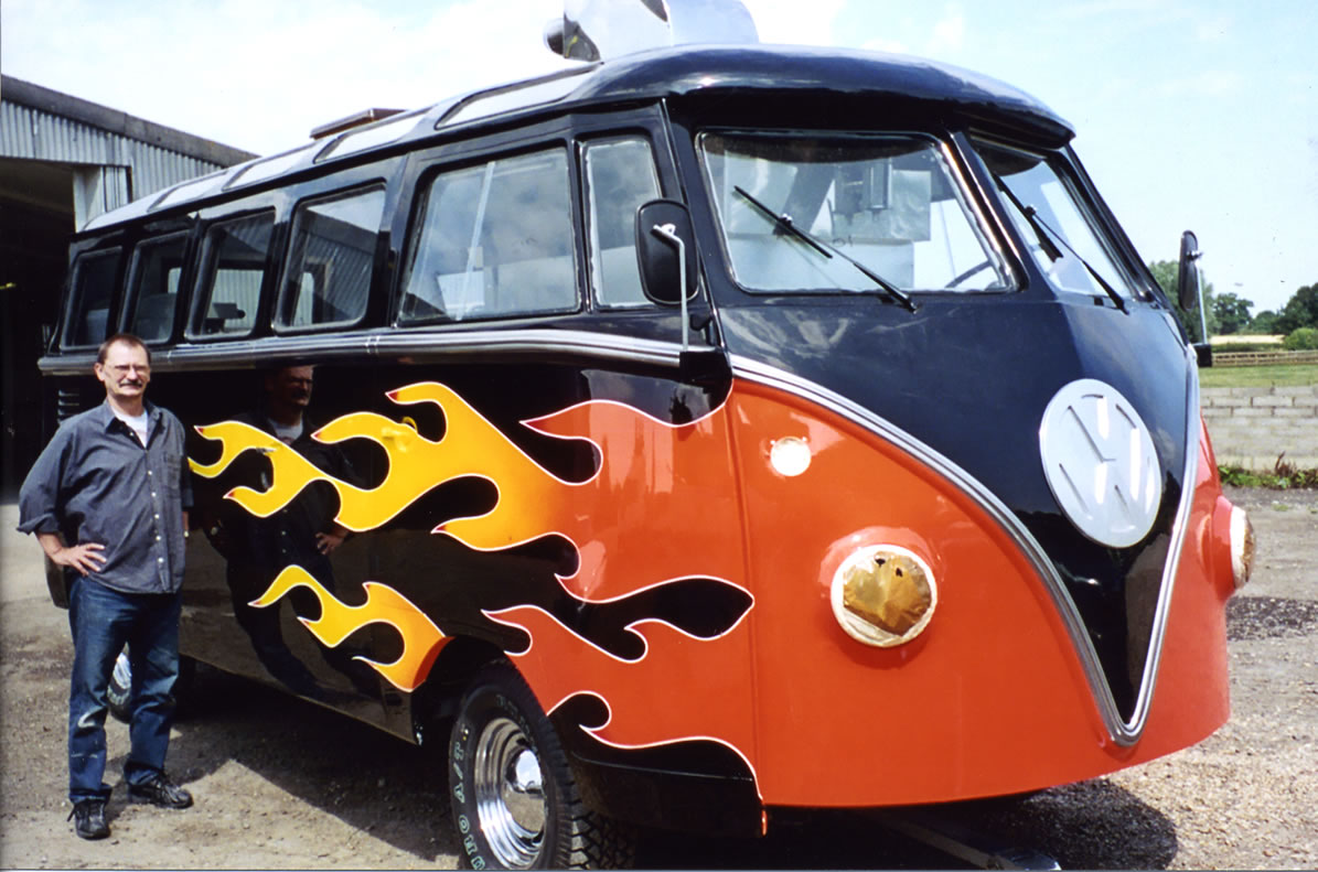Hot Wheels VW Camper for ALA GAP Insurance