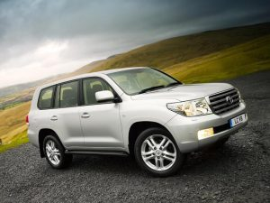 Toyota Land Cruiser for ALA GAP Insurance