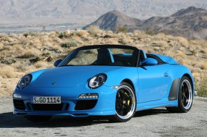 Porsche 911 Speedster for ALA GAP Insurance