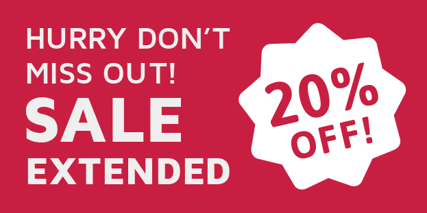 SALE EXTENDED! 20% off ALA Warranty