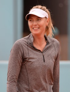 Maria Sharapova Madrid Open 2015